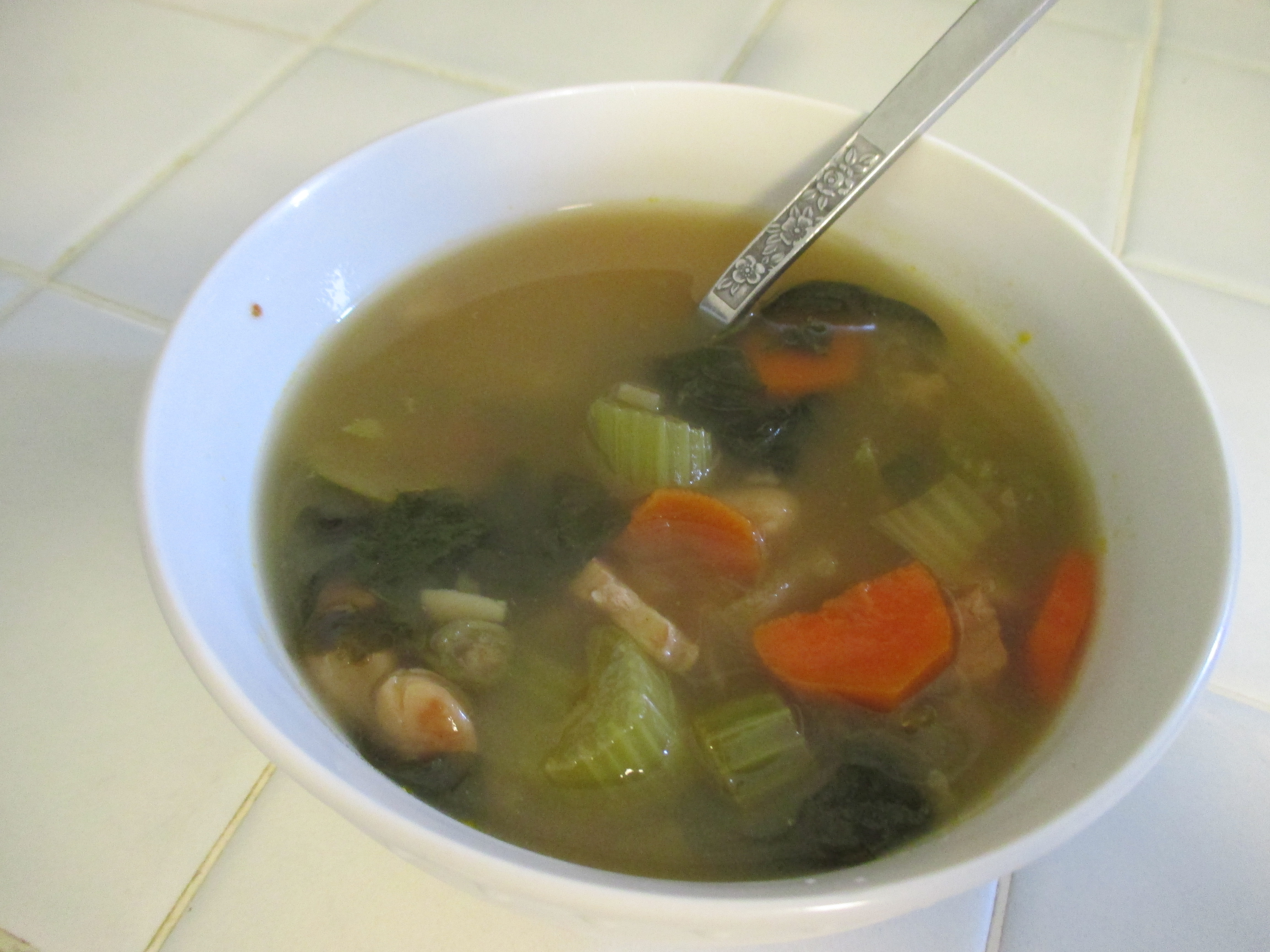 Post image for A Greek Making Scottish Soup